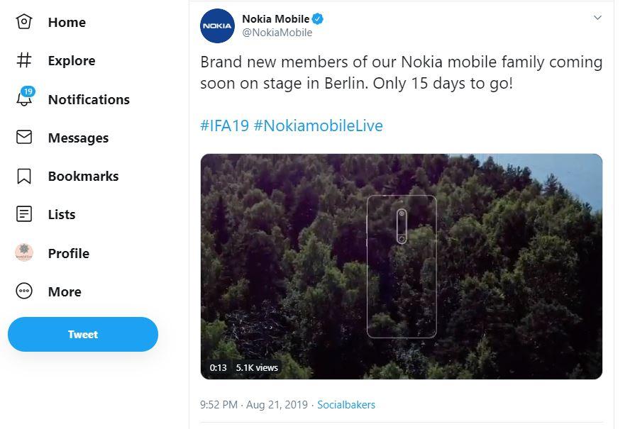 Sforum - Trang thông tin công nghệ mới nhất 1-21 HMD Global xác nhận sẽ ra mắt smartphone Nokia mới tại IFA 2019