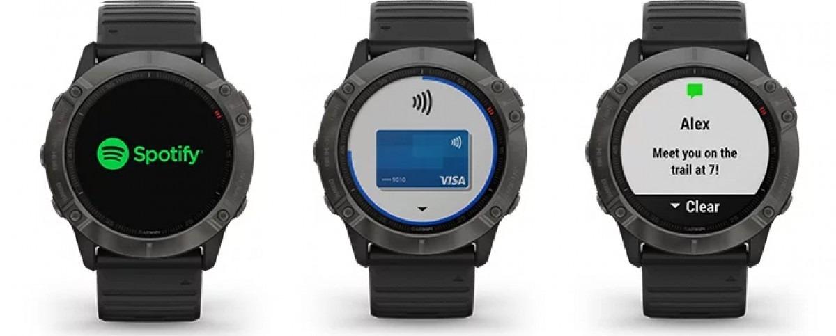 Sforum - gsmarena_002-3 Garmin introduces Fenix 6X Pro Solar: The first smartwatch to use solar energy