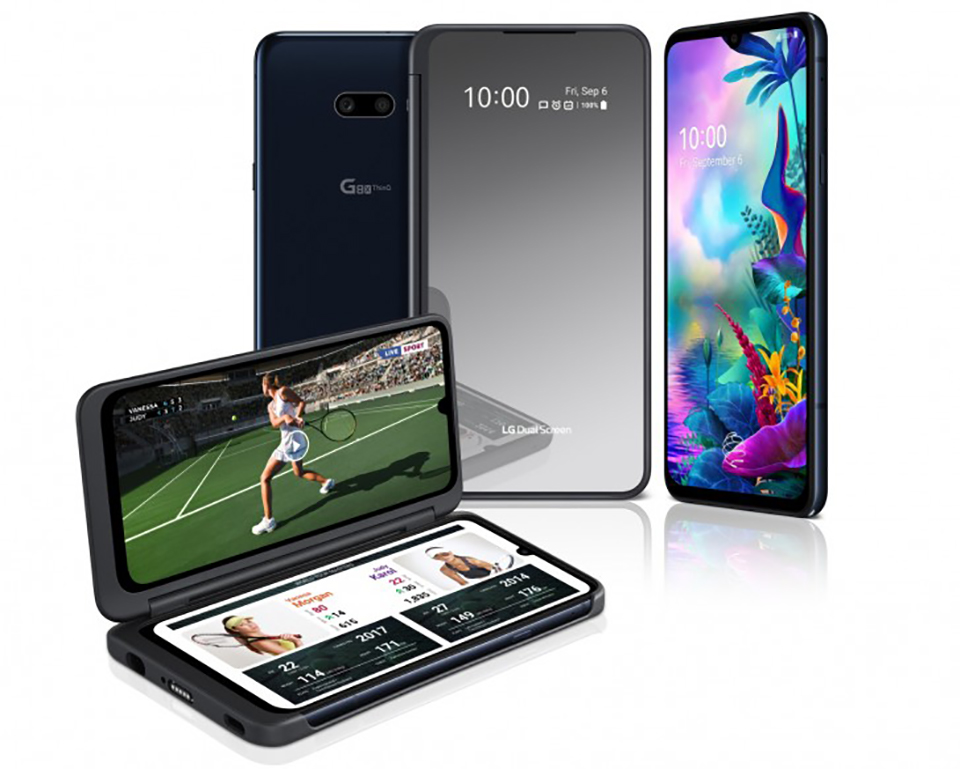 Sforum - LG-G8X-ThinQ-5 latest technology information page LG G8X ThinQ officially launched with the unique 2 detachable screen design