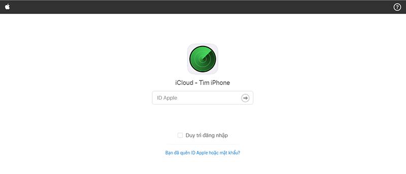 Sforum - Trang thông tin công nghệ mới nhất Capture-158 Huớng dẫn cách tìm iPhone, Macbook bị mất mà không cần internet