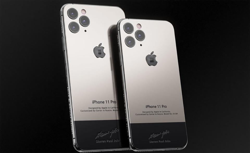 Sforum - Trang thông tin công nghệ mới nhất iPhone-11-Pro-Steve-Jobs-2 iPhone 11 Pro phiên bản Steve Jobs: Vỏ titan, giá gần 150 triệu, chỉ bán 9 chiếc ra thị trường