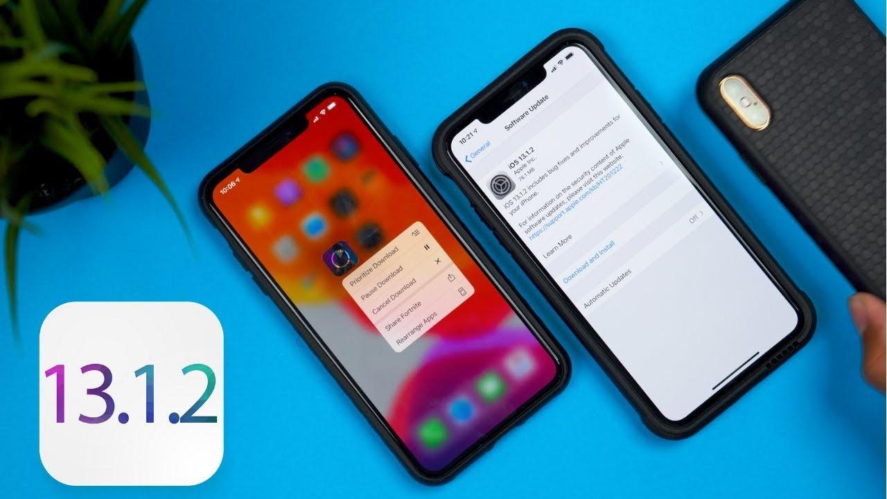 Sforum - Trang thông tin công nghệ mới nhất maxresdefault Apple phát hành iOS 13.1.2 chỉ 3 ngày sau khi tung ra iOS 13.1.1, tiếp tục sửa hàng loạt lỗi