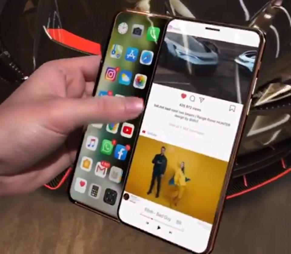 """Sforum - Trang thông tin công nghệ mới nhất iPhone-Slide-Pro-1 Xuất hiện video trên tay iPhone Slide Pro màn hình trượt cực """"độc"""", đảm bảo iFan sẽ thích mê"""