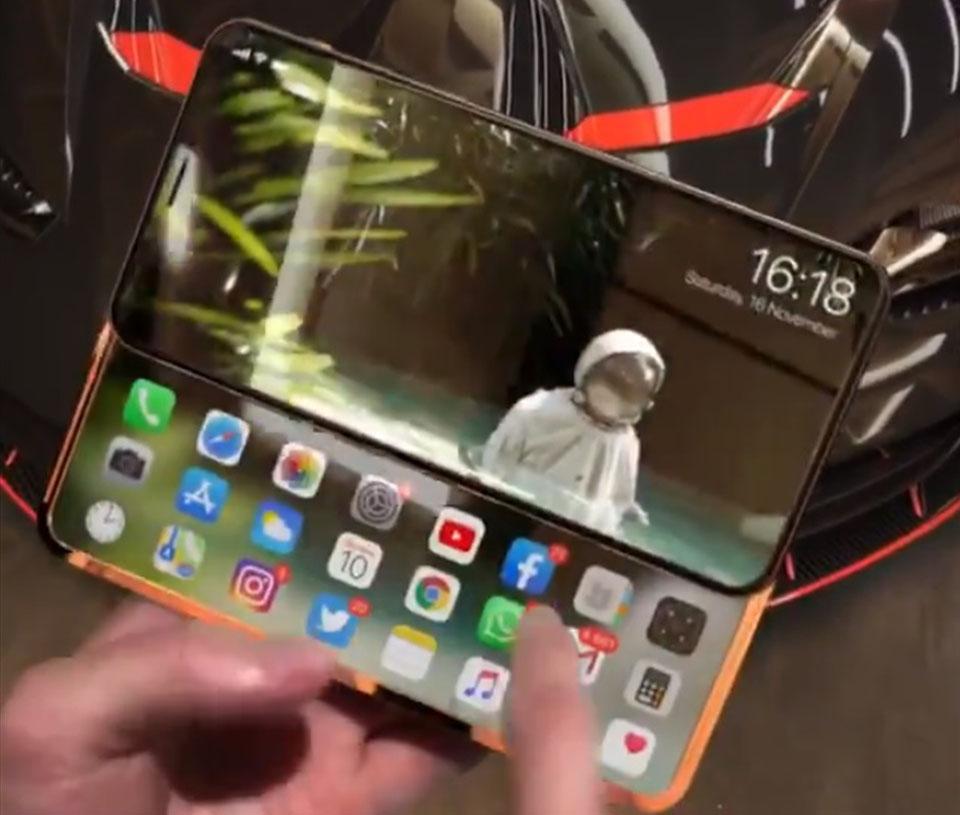 """Sforum - Trang thông tin công nghệ mới nhất iPhone-Slide-Pro-2 Xuất hiện video trên tay iPhone Slide Pro màn hình trượt cực """"độc"""", đảm bảo iFan sẽ thích mê"""