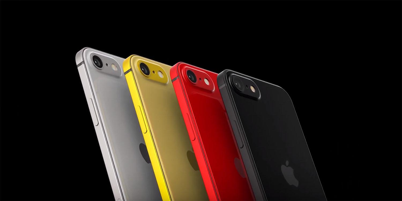 Sforum - Trang thông tin công nghệ mới nhất iPhone-SE-2-1 Xuất hiện ý tưởng thiết kế iPhone SE 2 cực đẹp với 4 tùy chọn màu sắc trẻ trung