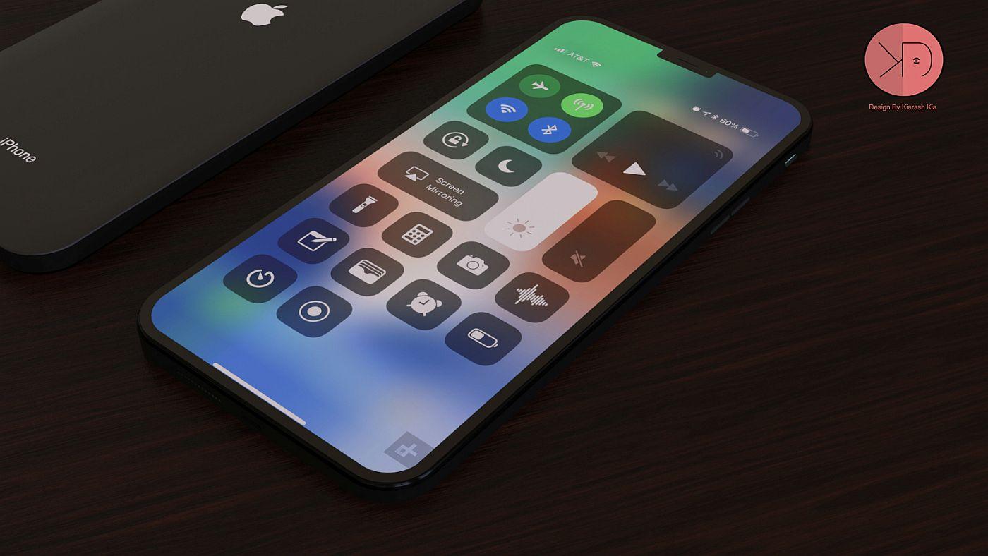 Sforum - Trang thông tin công nghệ mới nhất iPhone-SE-2-concept-Kiarash-Kia-design-2 Concept iPhone SE 2 mới, đẹp sang trọng