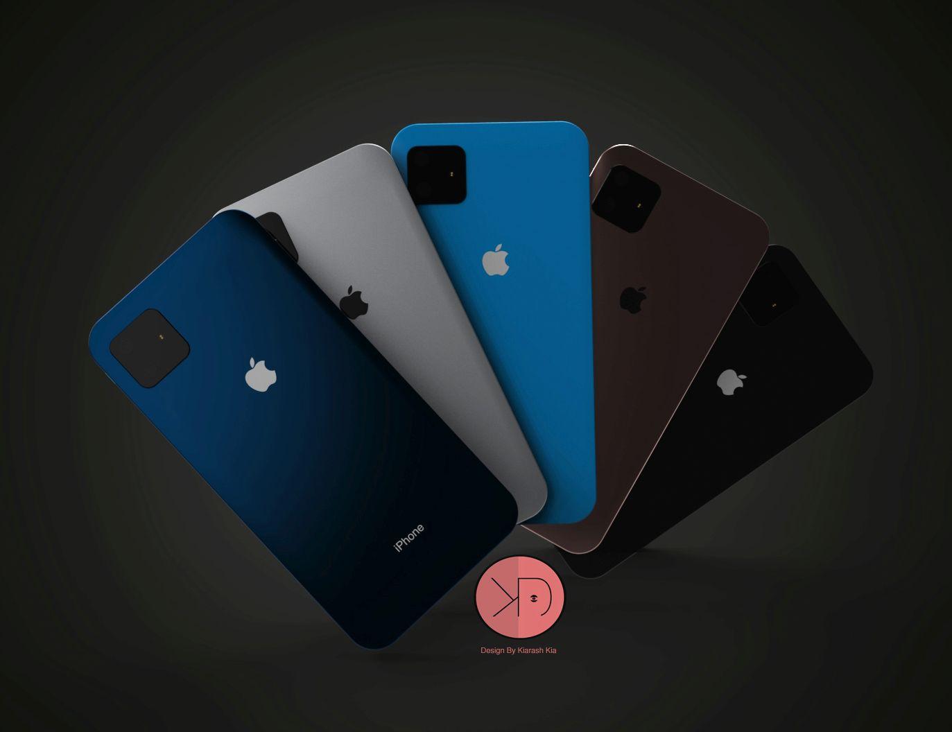 Sforum - Trang thông tin công nghệ mới nhất iPhone-SE-2-concept-Kiarash-Kia-design-3 Concept iPhone SE 2 mới, đẹp sang trọng