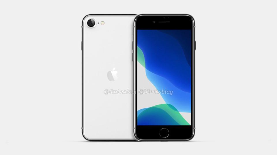 """Sforum - Trang thông tin công nghệ mới nhất render-iPhone-SE-2-1 Thiết kế iPhone SE 2/iPhone 9 lộ diện rõ nét trong video render 360 độ, iFan """"gom lúa"""" chưa?"""