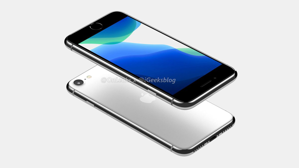 """Sforum - Trang thông tin công nghệ mới nhất render-iPhone-SE-2-2 Thiết kế iPhone SE 2/iPhone 9 lộ diện rõ nét trong video render 360 độ, iFan """"gom lúa"""" chưa?"""