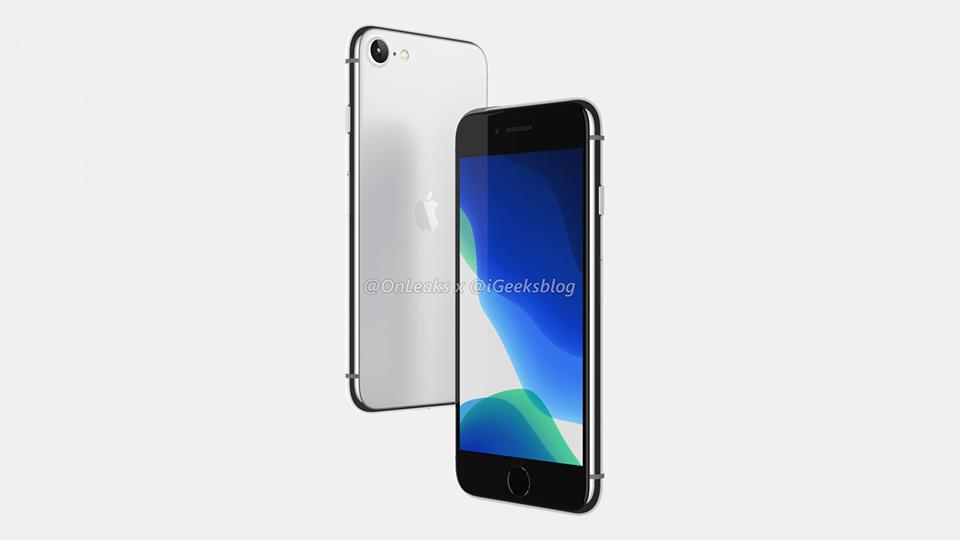 """Sforum - Trang thông tin công nghệ mới nhất render-iPhone-SE-2-3 Thiết kế iPhone SE 2/iPhone 9 lộ diện rõ nét trong video render 360 độ, iFan """"gom lúa"""" chưa?"""
