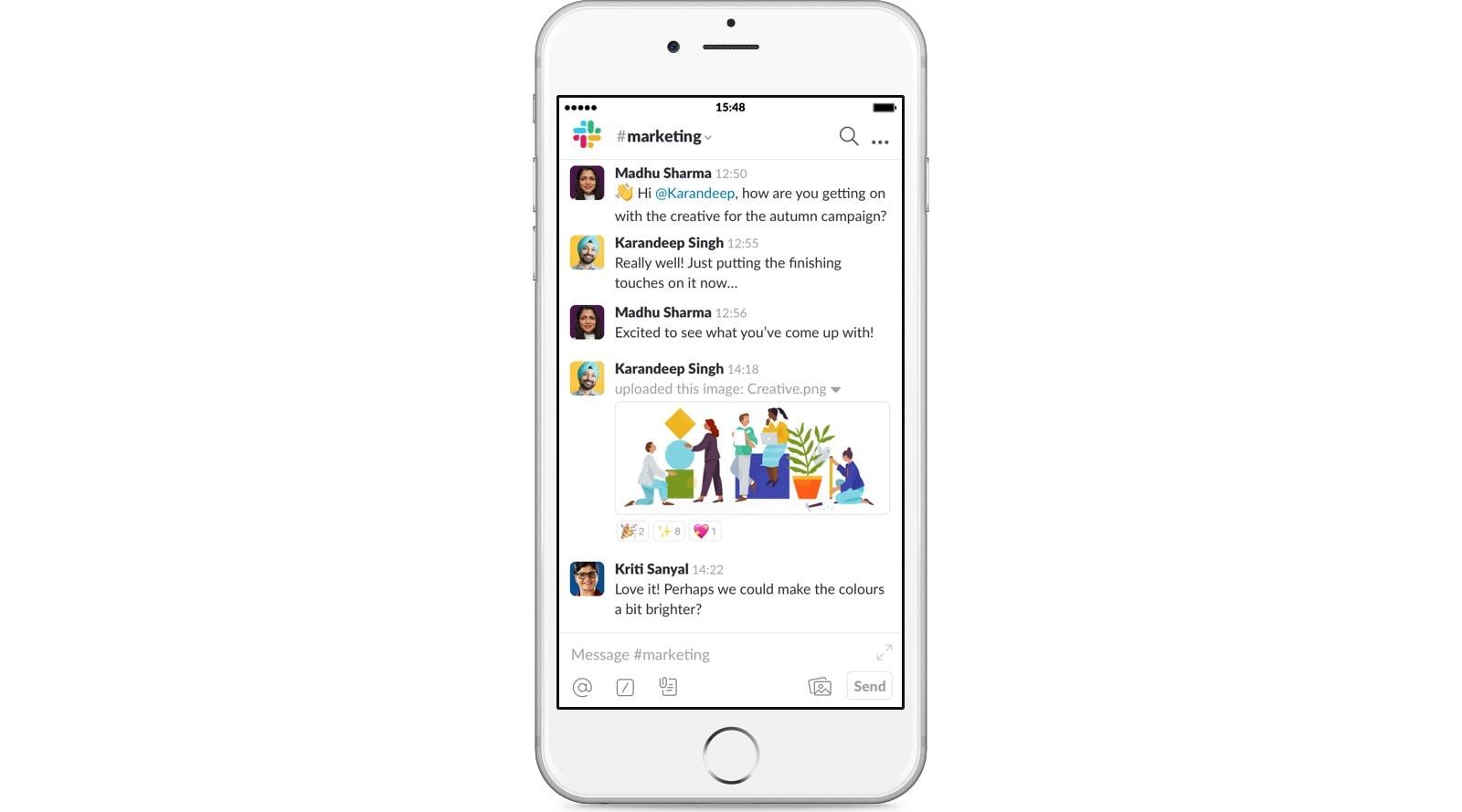 Sforum - Trang thông tin công nghệ mới nhất slack-iphone 5 ứng dụng cần thiết trên iOS để làm việc tại nhà hiệu quả hơn trong mùa dịch
