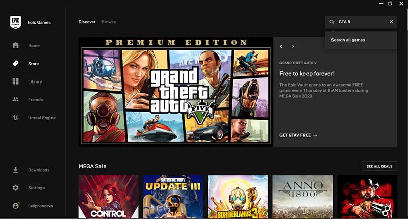 Sforum - Trang thông tin công nghệ mới nhất 7 Hướng dẫn cách tải GTA 5 Premium Edition miễn phí trên Epic Games Store