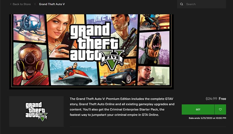 Sforum - Trang thông tin công nghệ mới nhất 9 Hướng dẫn cách tải GTA 5 Premium Edition miễn phí trên Epic Games Store