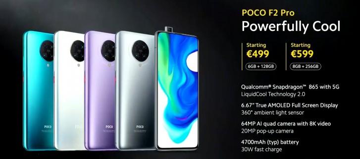 Sforum - Trang thông tin công nghệ mới nhất gsmarena_907 Poco F2 Pro ra mắt: Phiên bản đổi tên của Redmi K30 Pro 5G, giá gần 13 triệu