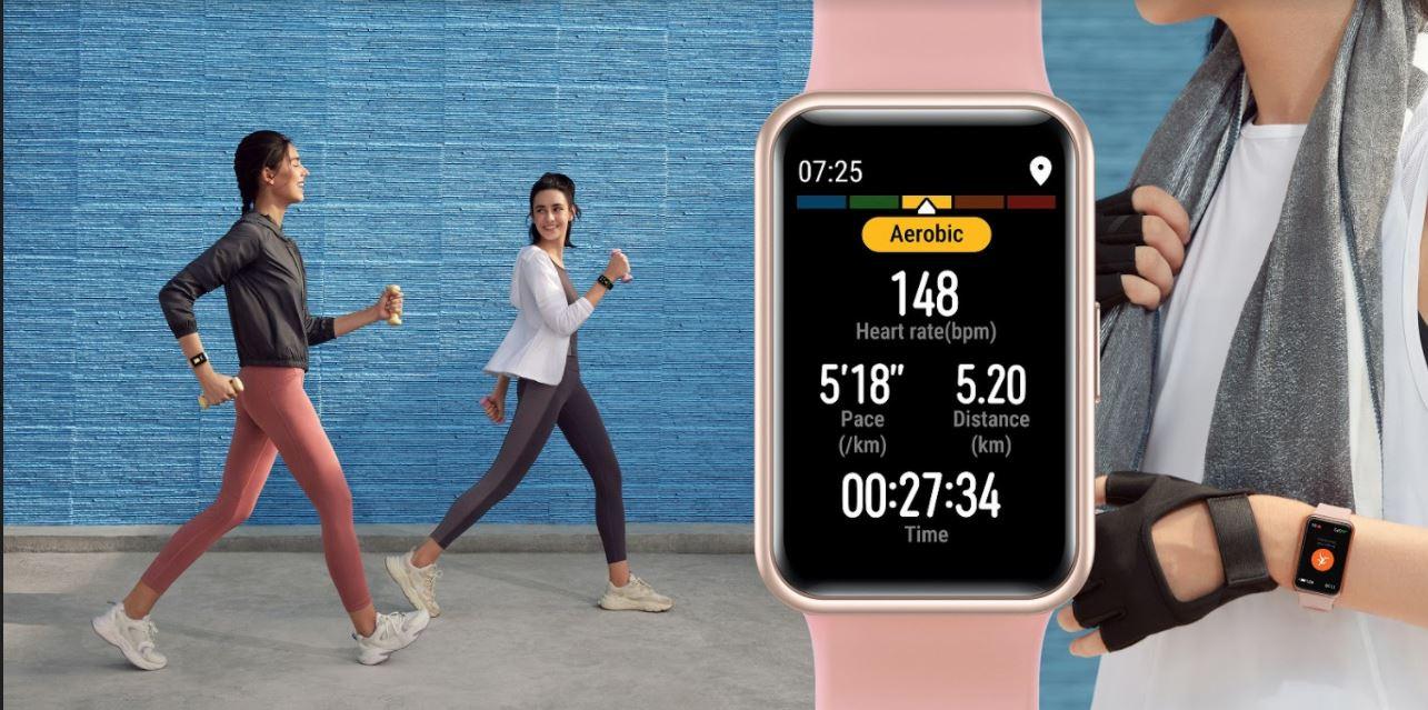Sforum - Trang thông tin công nghệ mới nhất 2-20 Huawei ra mắt đồng hồ thông minh Huawei Watch Fit tại thị trường Việt Nam với giá hơn 3 triệu đồng, pin trâu, hỗ trợ nhiều tính năng