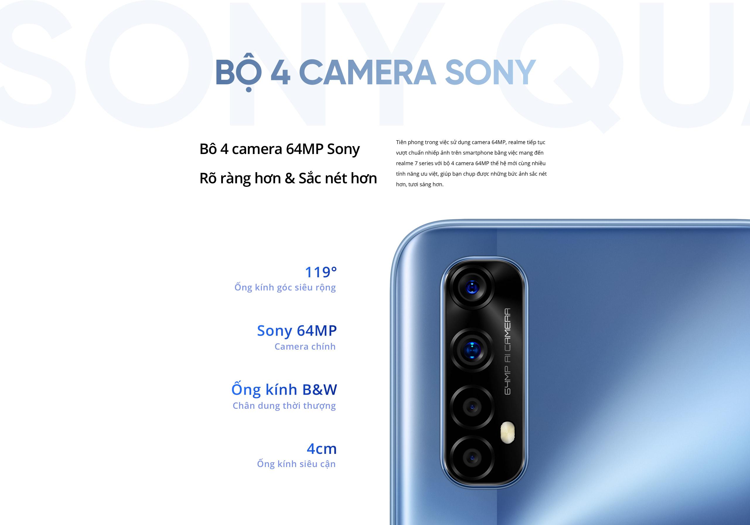 Sforum - Trang thông tin công nghệ mới nhất 9-1 Realme 7 và Realme 7 Pro ra mắt tại VN: Nhiều tính năng hấp dẫn, giá từ 6.99 triệu đồng
