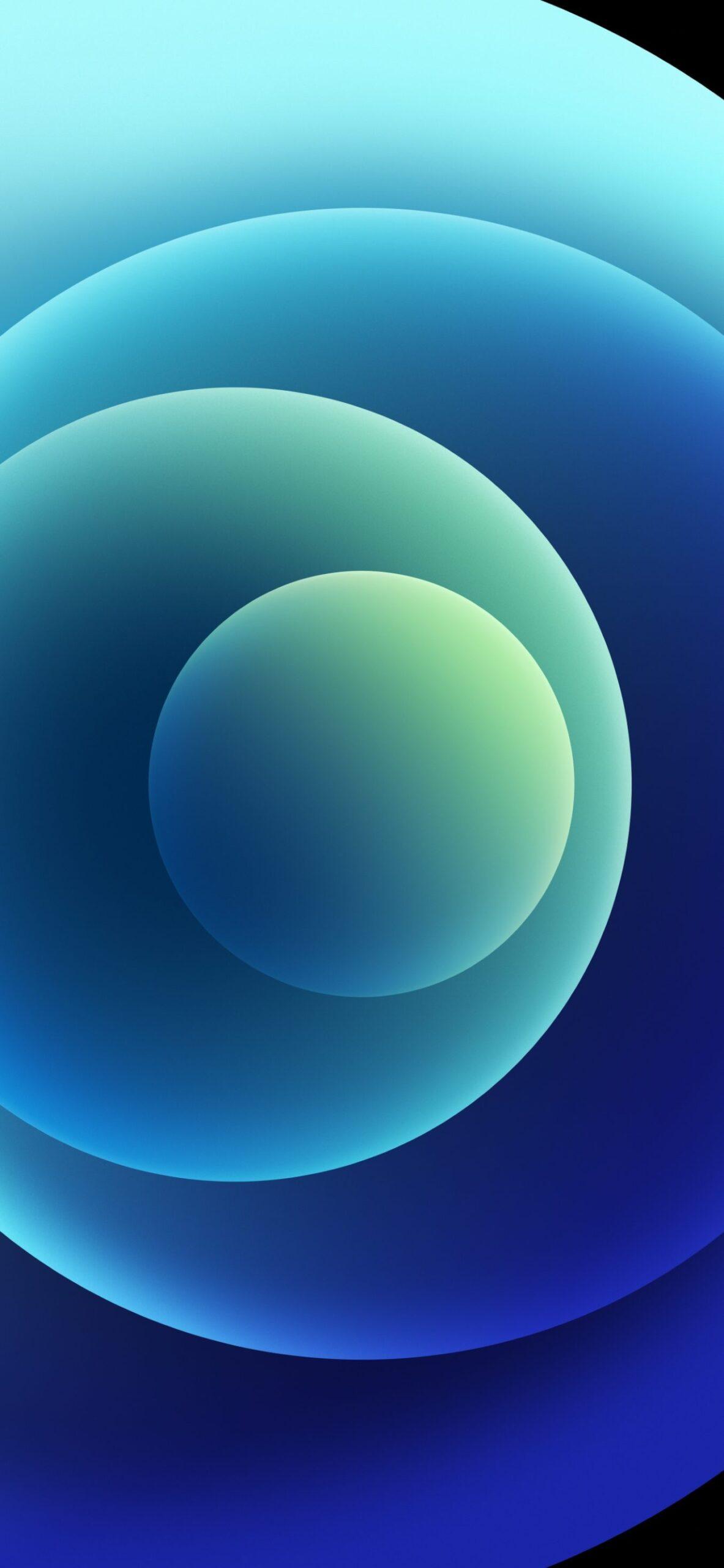 Sforum - Trang thông tin công nghệ mới nhất Orbs-Blue-Light-scaled Mời tải trọn bộ hình nền đầy màu sắc của loạt iPhone 12 mới ra mắt