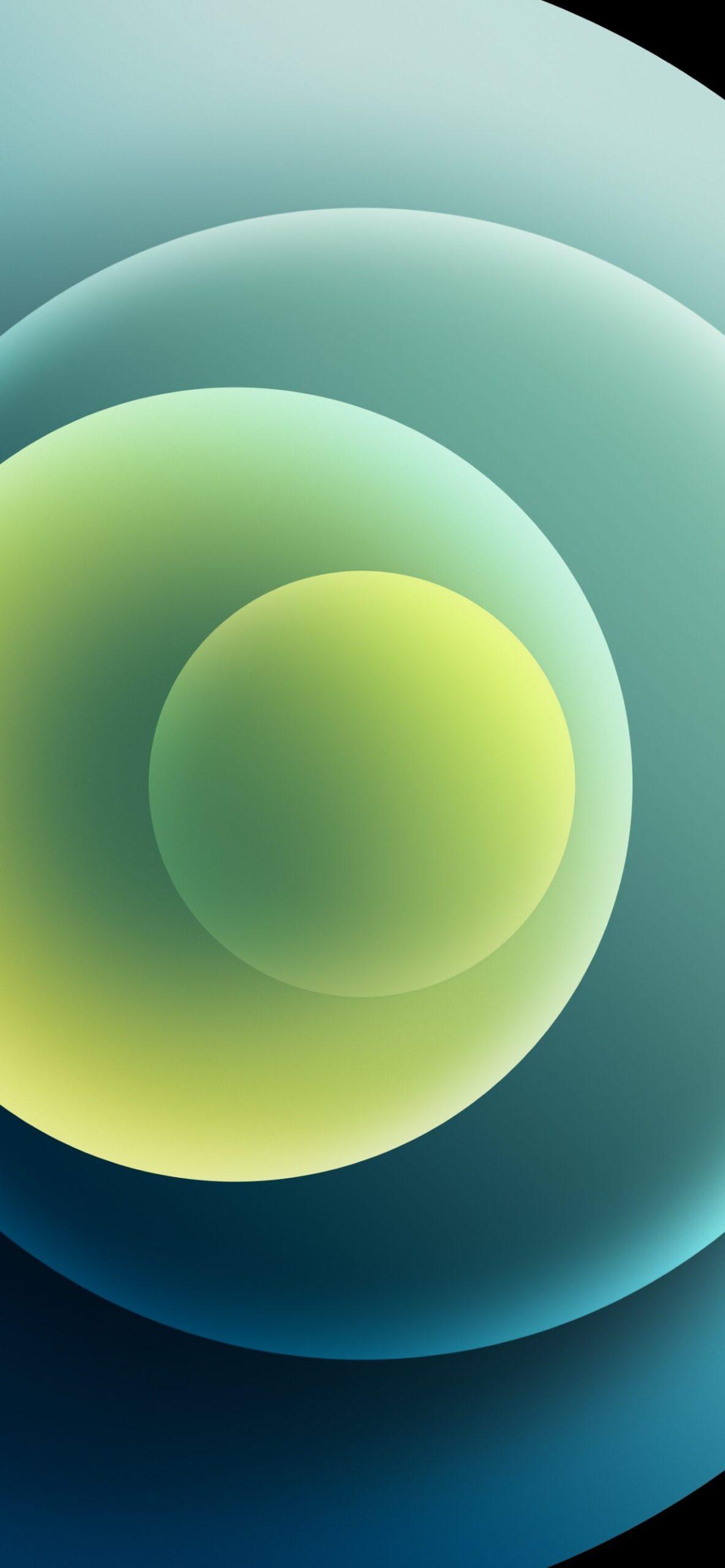 Sforum - Trang thông tin công nghệ mới nhất Orbs-Green-Light-scaled Mời tải trọn bộ hình nền đầy màu sắc của loạt iPhone 12 mới ra mắt