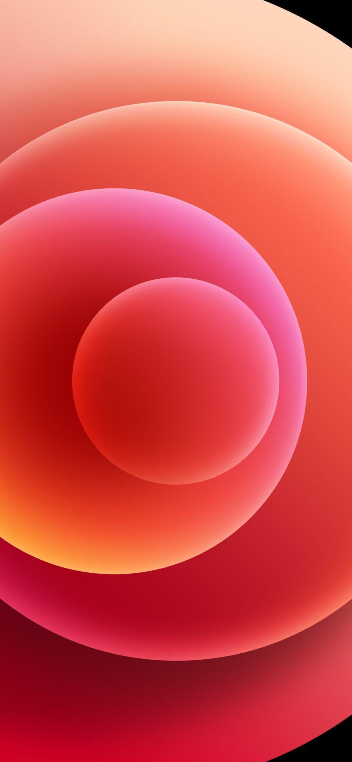 Sforum - Trang thông tin công nghệ mới nhất Orbs-Red-Light-scaled Mời tải trọn bộ hình nền đầy màu sắc của loạt iPhone 12 mới ra mắt
