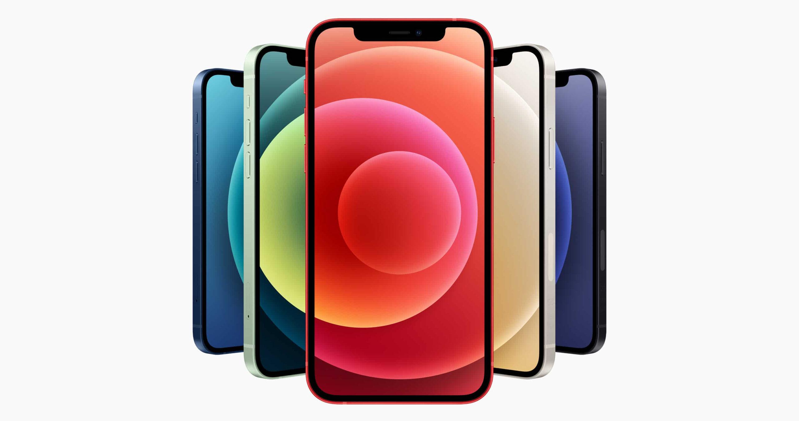 Sforum - Trang thông tin công nghệ mới nhất hinh-nen-iPhone-12-face-scaled Mời tải trọn bộ hình nền đầy màu sắc của loạt iPhone 12 mới ra mắt