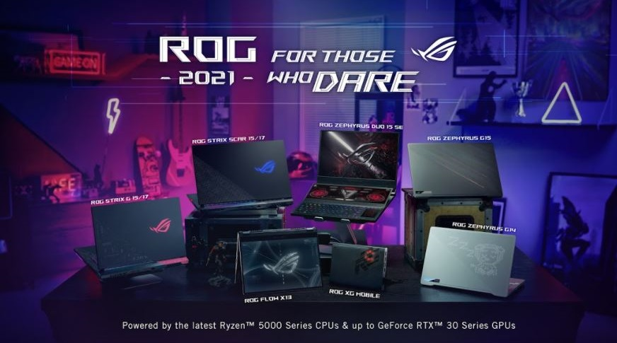 Sforum - Trang thông tin công nghệ mới nhất 1-13 ASUS Republic of Gamers giới thiệu ROG Flow X13 và dải laptop gaming hoàn toàn mới tại sự kiện CES 2021