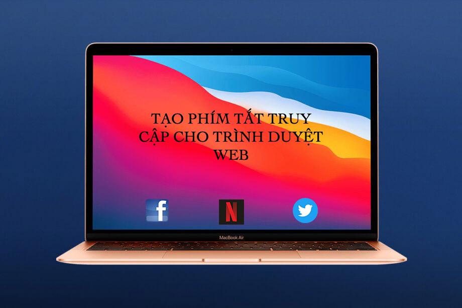 Sforum - Trang thông tin công nghệ mới nhất 0-16 Tạo phím tắt truy cập cho website yêu thích trên MacBook cực dễ