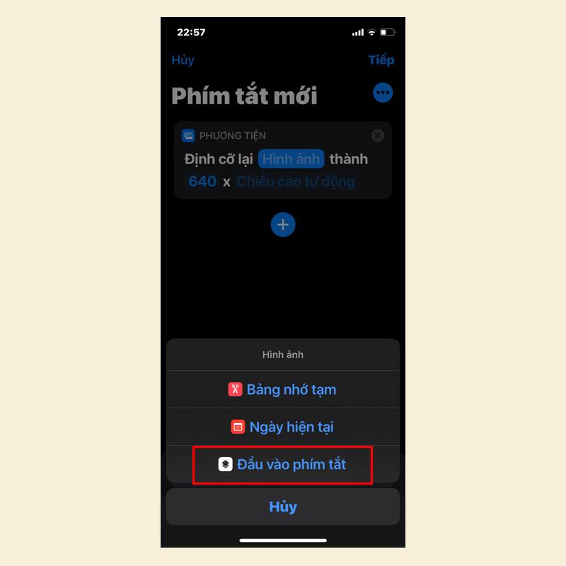 Sforum - Trang thông tin công nghệ mới nhất 3-3 Hướng dẫn thay đổi kích thước ảnh trên iPhone, iPad và MacBook trong một nốt nhạc