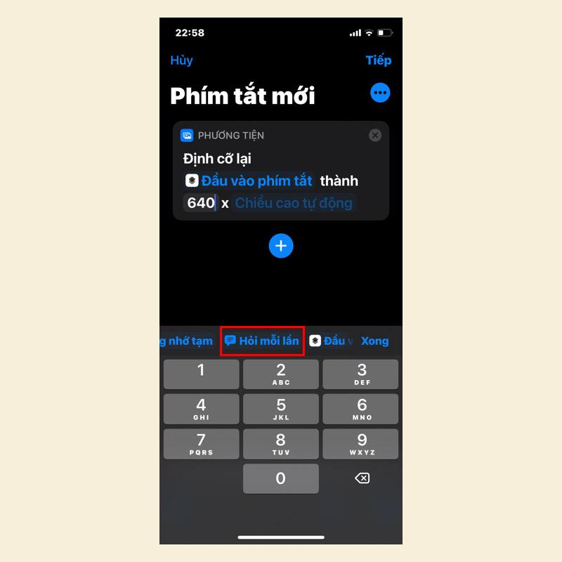 Sforum - Trang thông tin công nghệ mới nhất 4-3 Hướng dẫn thay đổi kích thước ảnh trên iPhone, iPad và MacBook trong một nốt nhạc
