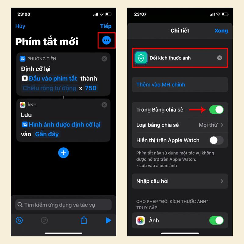 Sforum - Trang thông tin công nghệ mới nhất 6-2 Hướng dẫn thay đổi kích thước ảnh trên iPhone, iPad và MacBook trong một nốt nhạc