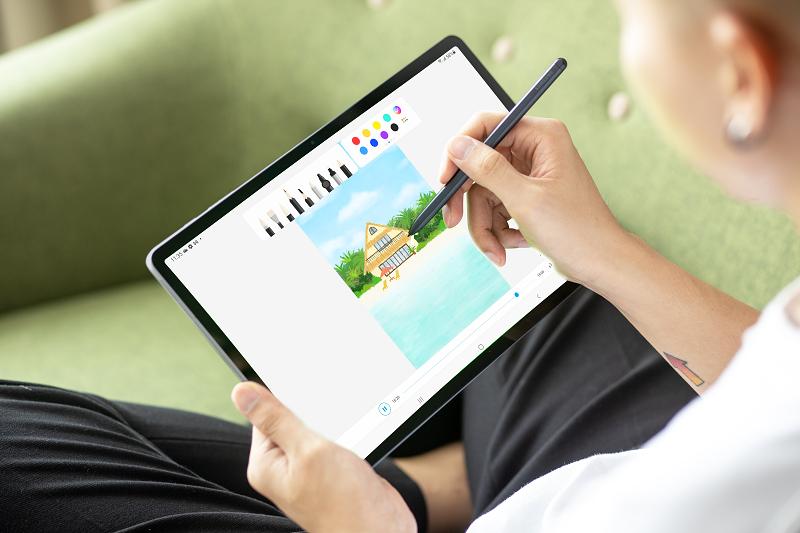 Sforum - Trang thông tin công nghệ mới nhất 111-20 Galaxy Tab S7 FE hỗ trợ S Pen, pin 10,000mAh sạc 45W, tablet hấp dẫn tầm giá trên 10 triệu