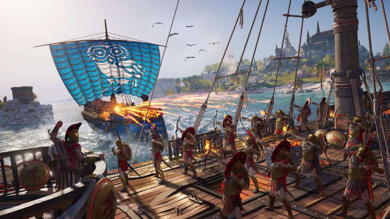 Sforum - Trang thông tin công nghệ mới nhất Assassins-Creed-Odyssey-3 Đánh giá Assassin's Creed Odyssey - Một Odyssey do bạn quyết định