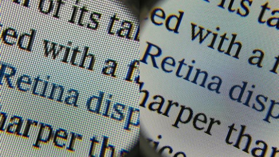 Sforum - Trang thông tin công nghệ mới nhất 01.-Retina-compare Retina – Lối đi riêng của Apple với phần còn lại của thế giới
