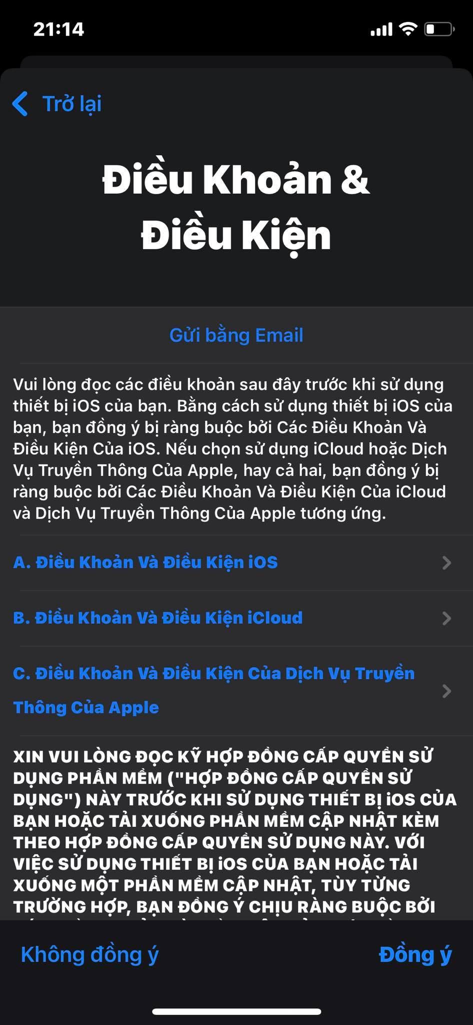 Sforum - Trang thông tin công nghệ mới nhất 240837340_539137267198314_9026646734014748934_n Hướng dẫn đăng ký iCloud trên web, iPhone và iPad