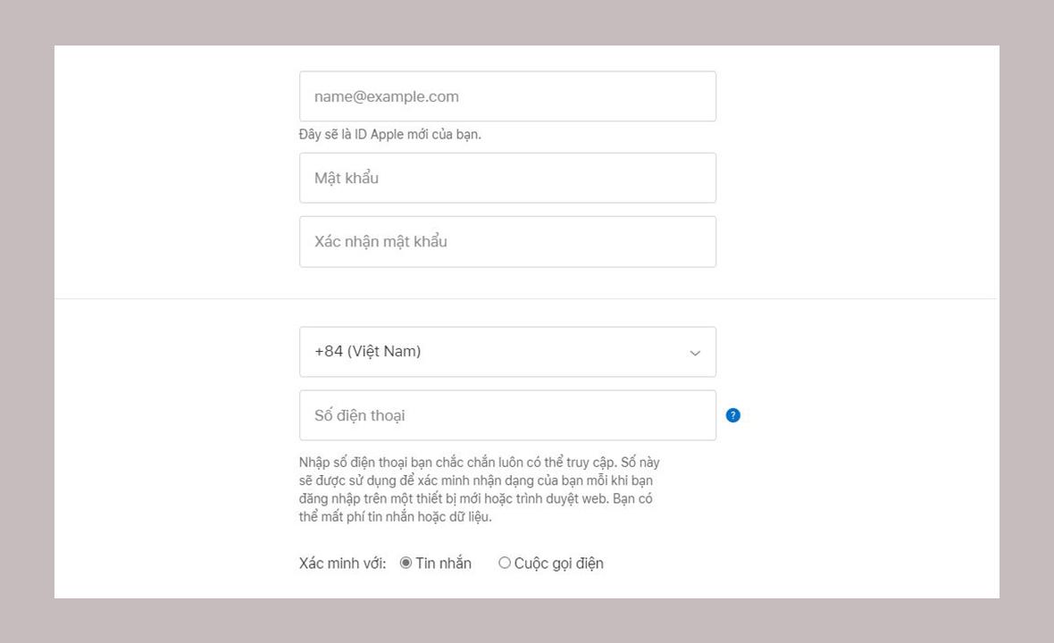 Sforum - Trang thông tin công nghệ mới nhất iCloud10 Hướng dẫn đăng ký iCloud trên web, iPhone và iPad